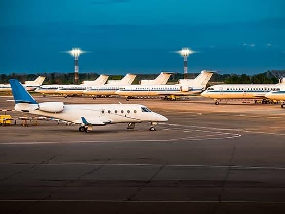 Transfert VTC entre Courtaboeuf et les Aéroport de Paris et de France